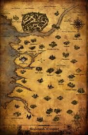 Odyssey Map Baldur U0027s Gate Path Of The Lost Odyssey Alpha Map By Withinamnesia
