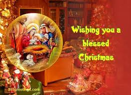 wishing you a blessed christmas from 365greetings com