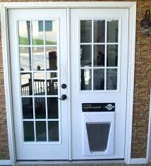 Patio Door With Pet Door Built In Sliding Patio Door With Pet Door S Sliding Patio Doors With Built