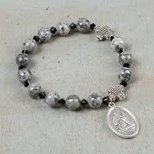 bracelet rosary holy souls rosary bracelet the catholic company