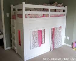 Best Girls Bunk Beds Images On Pinterest Girls Bunk Beds - Loft bunk beds for girls