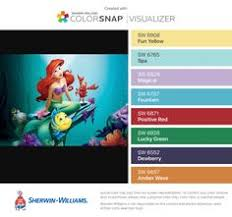 paint colors from chip it by sherwin williams inspired by disney