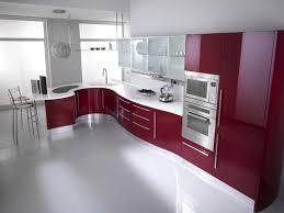 luxury modern kitchens luxury minimalist modern kitchen with glass cabinets home ideas