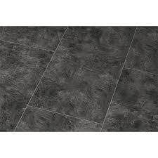 Black Laminate Flooring Tile Effect Falquon High Gloss 4v Stone Effect 8mm Pindos Tile High Gloss