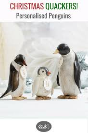 our emperor penguins can be personalised with the names of your