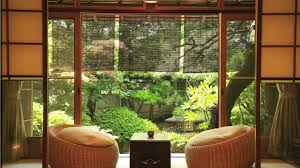 other zen room light candle curtains trees table cushions windows