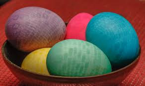 2 easy ways to make patterned easter eggs with pictures