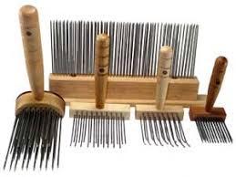 carding comb wool combs thewooleryguy