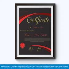 best performance award certificate templates word layouts