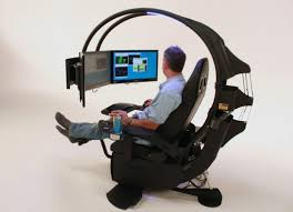 Console Gaming Desk Pc Gaming Desk Chair The Essence Of Console Gaming In One