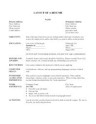 resume layout resume templates