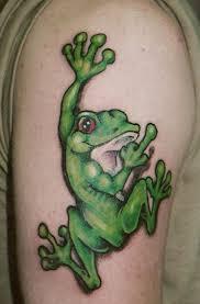 forearm frog designs