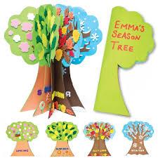 season tree project free craft ideas baker ross