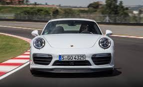 porsche white 2017 2017 porsche 911 turbo s white test drive front view gallery