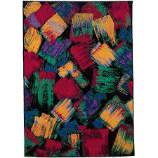 Couristan Area Rugs Couristan Confetti Wool Area Rug 8 X 11 Wowmarketstore