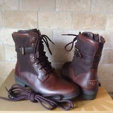 ugg womens cargo boots womens ugg kesey brown chestnut boots size 11 style 1005264 ebay