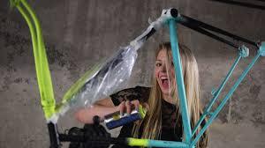 check out our quick arty spray bike paint job bikeradar