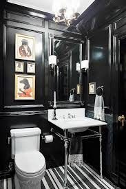 100 Black And White Tile Bathroom Ideas Best 25 Farmhouse Best 25 Black Powder Room Ideas On Pinterest Black Bathrooms