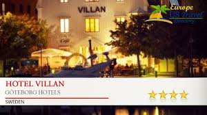 hotel villan göteborg hotels sweden youtube