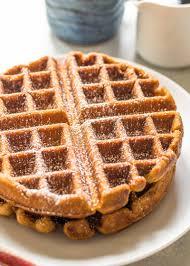 thanksgiving waffle recipe gingerbread waffles recipe simplyrecipes com