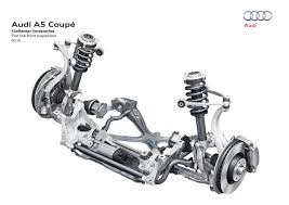 car suspension this is the technical presentation the audi a5 and the s5 deserve
