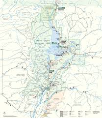 grand national park map the 7 day teton and yellowstone road trip itinerary