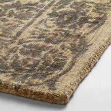 Pottery Barn Rug Shedding by Gray Floral Tufted Wool Sapphire Area Rug World Market