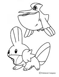 pokemon coloring mudkip images pokemon images