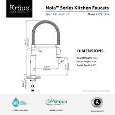 Faucet Flow Restrictor Kitchen Faucet Kraususa Com