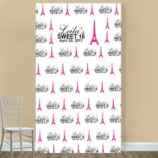 wedding backdrop personalized sweet sixteen personalized photo booth backdrops sweet