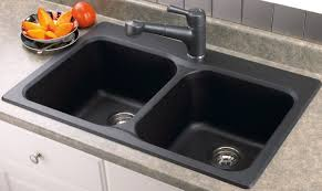 Double Porcelain Kitchen Sink Sinks And Faucets Gallery - Kitchen double sink
