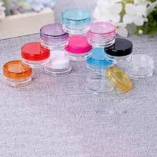 aliexpress com buy 10pcs set 5g transparent plastic cosmetic
