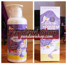 Gluta Yogurt Lotion gluta yogurt lotion lotion pemutih tubuh pandawi shop
