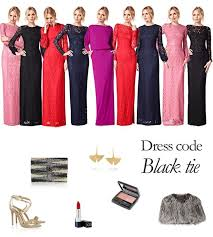 black tie attire the 25 best black tie attire ideas on black tie