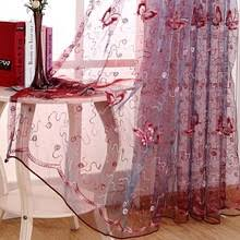 Butterfly Kitchen Curtains by Popular Butterfly Bedroom Curtains Buy Cheap Butterfly Bedroom