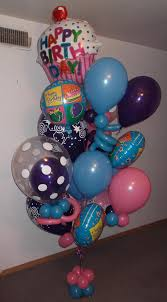 balloon bouquet delivery chicago beautiful large birthday balloon bouquet delivery arrangement 110