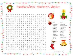 letter to santa template word 35 free christmas word search puzzles for kids christmas decorations there are 33 christmas decoration words in this word search puzzle