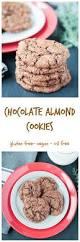 chocolate almond cookies gluten free u0026 vegan veggie inspired