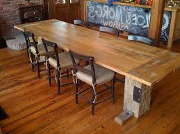 make a dining room table from reclaimed wood narrow dining room tables modern kitchen furniture photos ideas