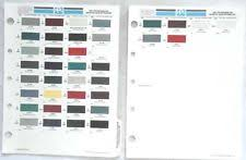 ppg paint color chart ebay