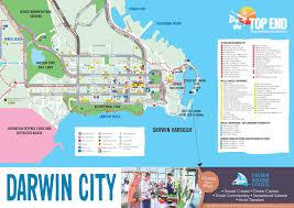 Studio City Map Tourism Top End Top End Maps Australia U0027s Northern Territory