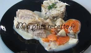 cuisine blanquette de veau à l ancienne blanquette de veau à l ancienne recette plat veau