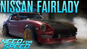 nissan fairlady 2017 nissan fairlady 240z build need for speed 2015 gameplay youtube