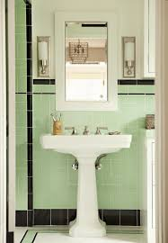 Vintage Bathroom Cabinet Vintage Bathrooms My Mint U0026 Pink Bathroom The Inspired Room