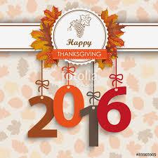 2016 foliage thanksgiving emblem stock image and royalty free