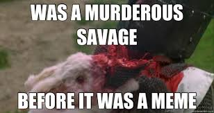 Murder Meme - was a murderous savage before it was a meme hipster murder bunny