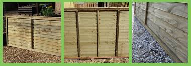 which are the cheapest overlap fencing panels