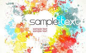 flower color splash eps free vector download 181 262 free vector