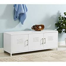 metal storage bench walker edison furniture company locker style