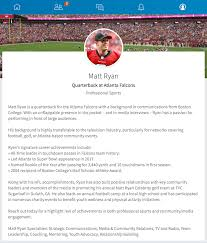 resume and linkedin profile writing linkedin makeovers for nfl quarterbacks tom brady and matt ryan check out our top tips on how to write a winning linkedin profile for your job search